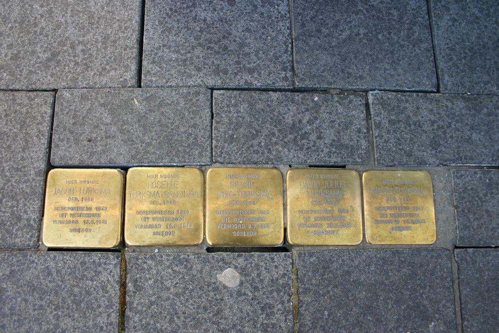 Stumbling Stones Kerkstraat 3
