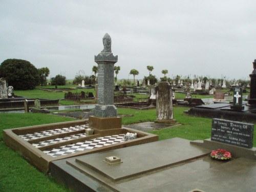 Commonwealth War Graves Rongotea Cemetery