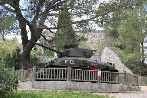 M4A1 Sherman Tank Mont Faron