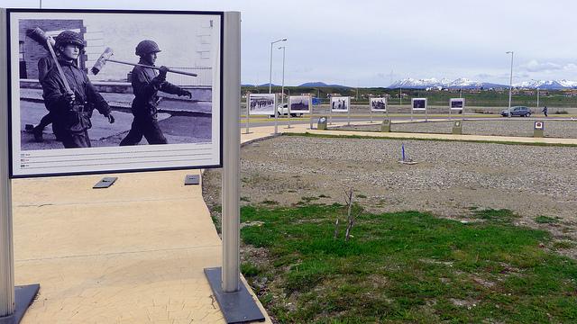 Photo Exhibition Falkland War