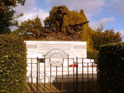 Memorial Cameronians