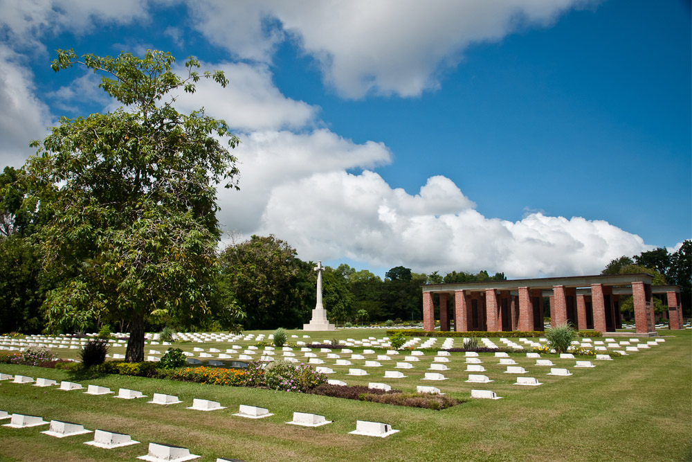 Commonwealth War Cemetery Labuan