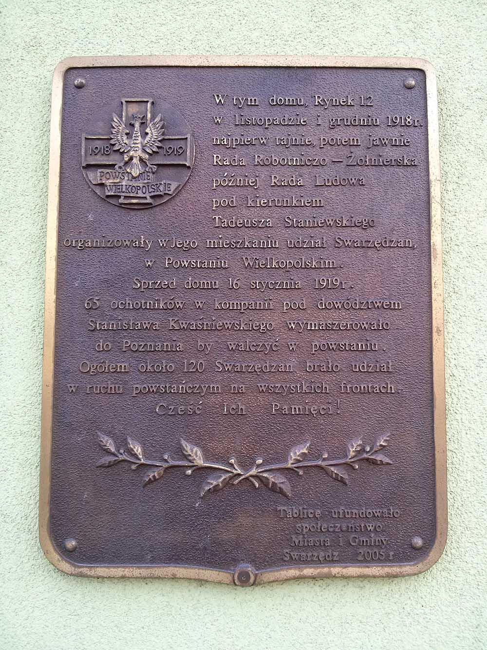 Former Headquarters Polish Insurgents 1918-1919