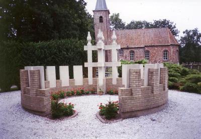 Nederlandse Oorlogsgraven Gemeentelijke Begraafplaats Marum