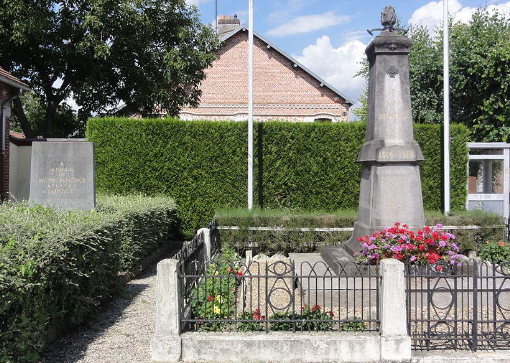 War Memorial Abbécourt