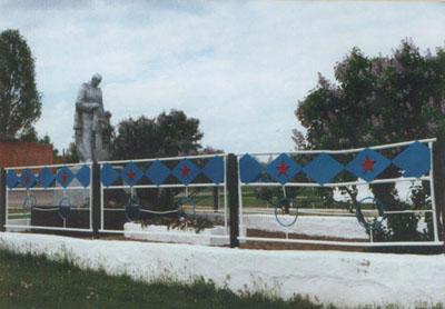 Mass Grave Soviet Soldiers Nizhnezhuravsky