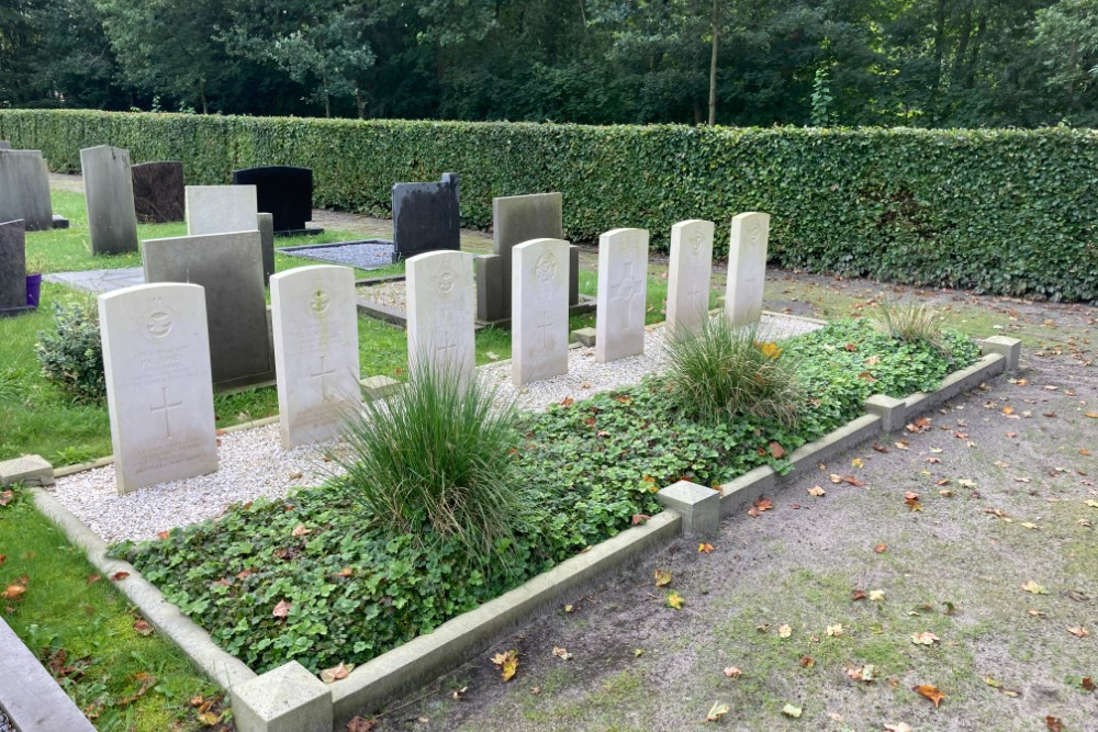 Commonwealth War Graves Dutch Reformed Cemetery Nieuwehorne