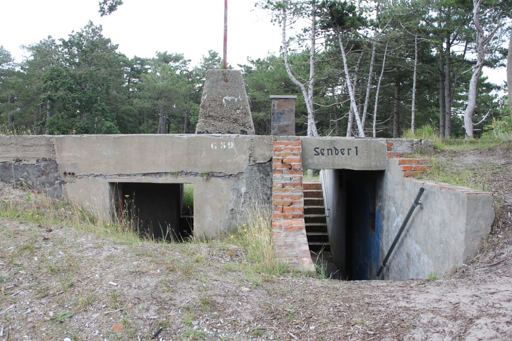 German Radarposition Tiger - Küvertype 467 Bunker/Sender 1
