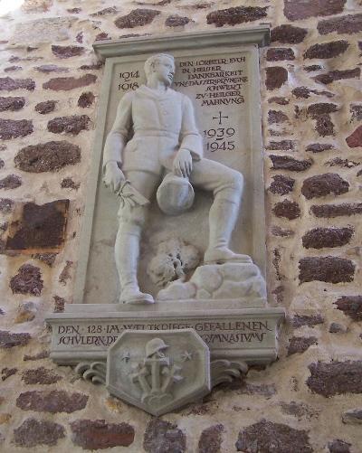 Monument Omgekomen Scholieren Martin-Luther-Gymnasium