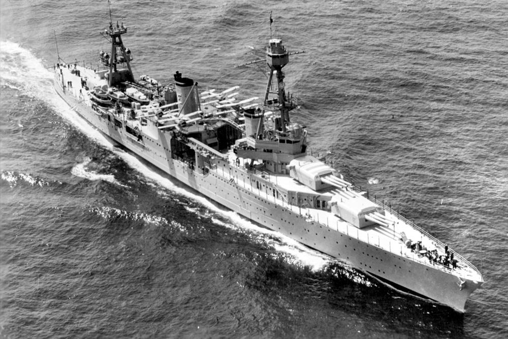 Shipwreck USS Chicago (CA-29)