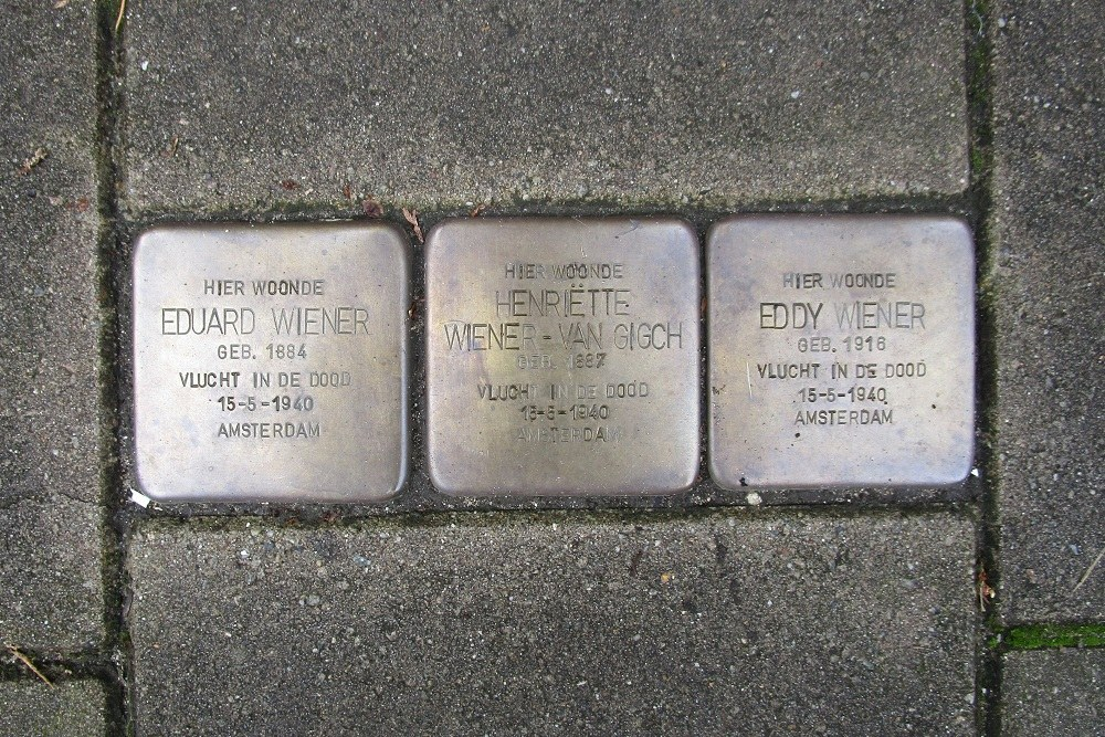Remembrance Stones Cliostraat 29