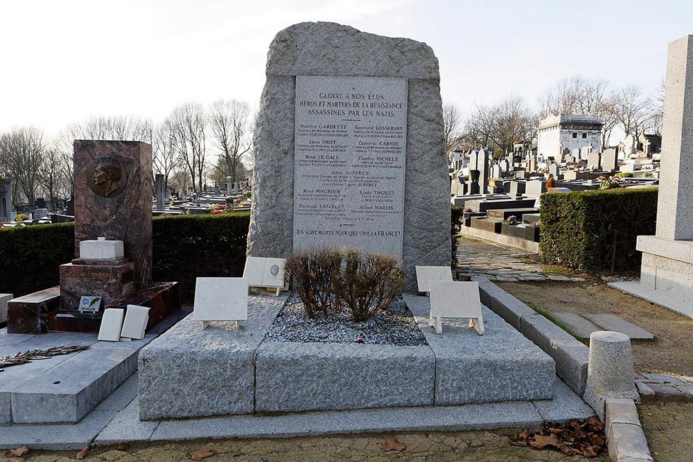 French War Graves Cimetière du Père-Lachaise