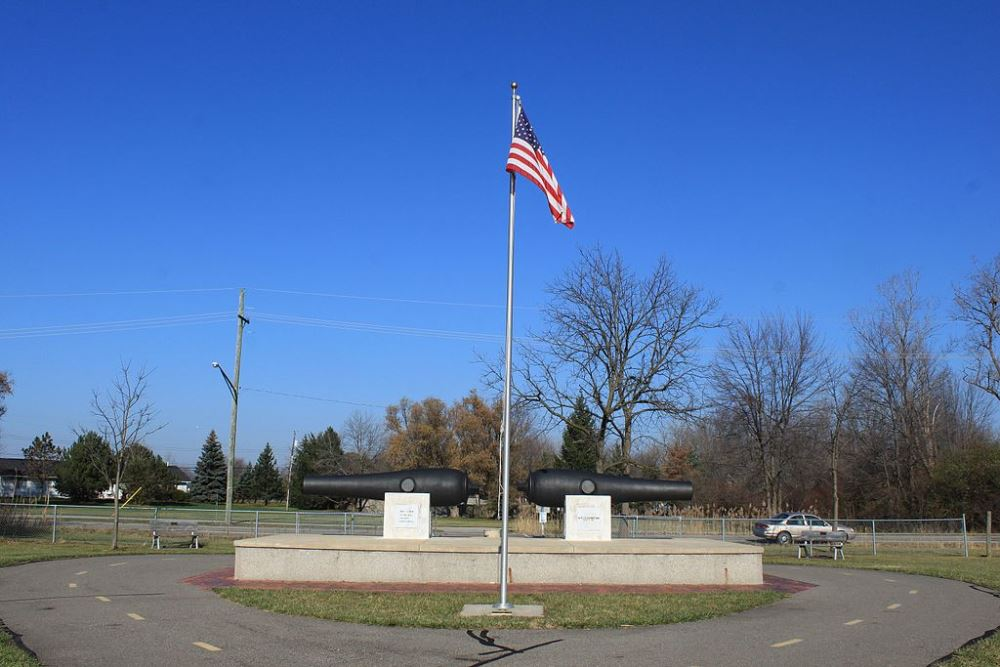 Monument Slag van Brownstown
