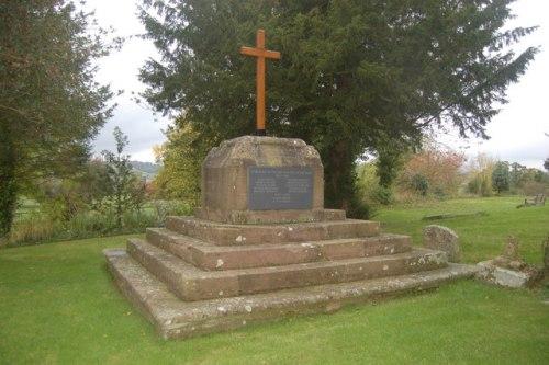 War Memorial Llantilio Crossenny