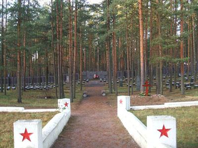 Soviet War Cemetery Sestroretsk