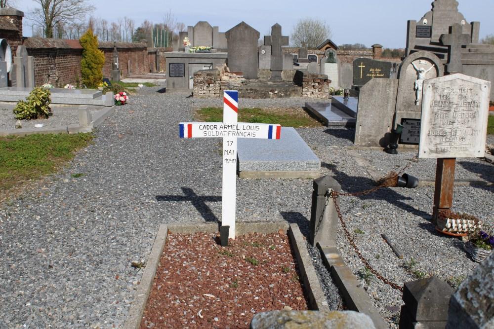 Frans Oorlogsgraf Autre-Eglise