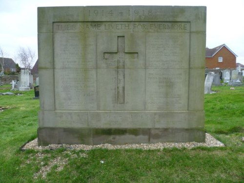 Commonwealth War Graves Mount Vernon Roman Catholic Cemetery