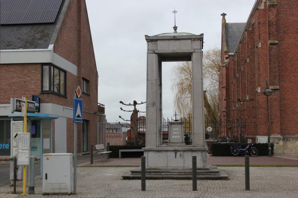 War Memorial Overmere