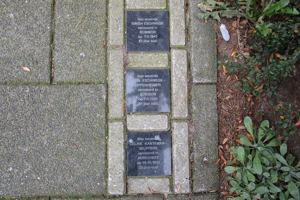 Memorial Stones Celsiusstraat 35