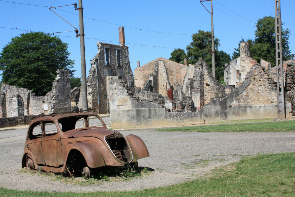 Ruins of Oradour-sur-Glane