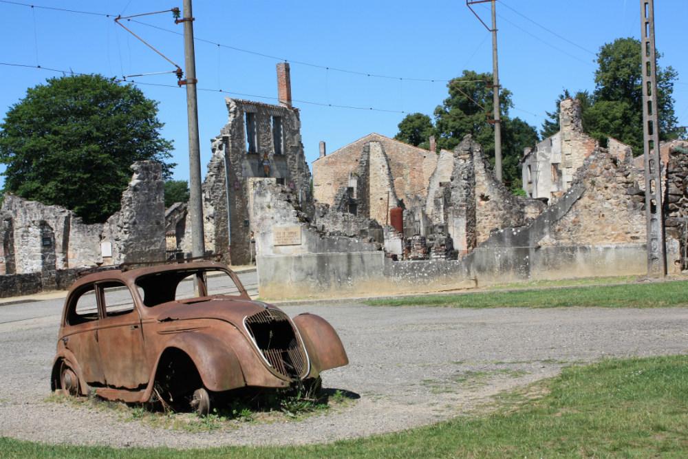Ruïnes van Oradour-sur-Glane