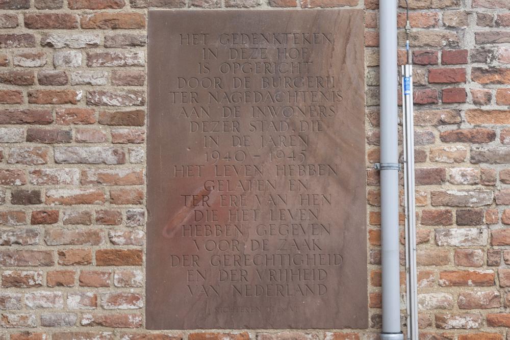 Plaque Broederen Church Zutphen