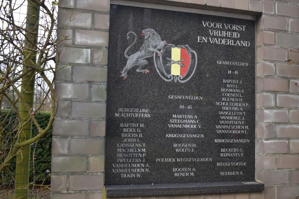 War Memorial Godsheide