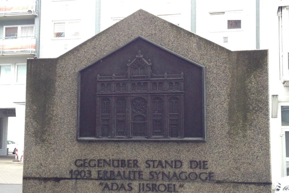 Memorial Destroyed Synagogue