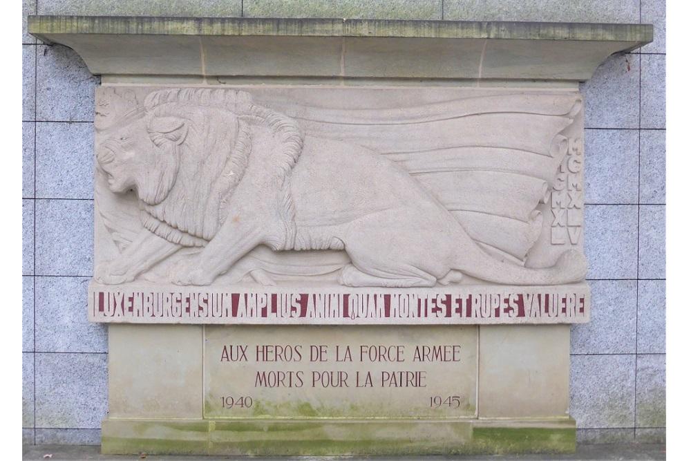 Monument Luxemburgse Militairen