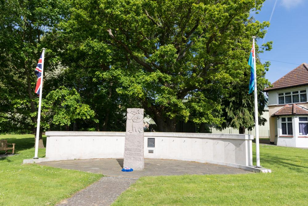 Monument Noorse Vliegeniers North Weald Bassett