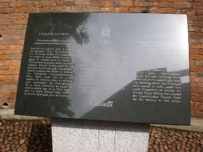 Monument Royal Rifles of Canada
