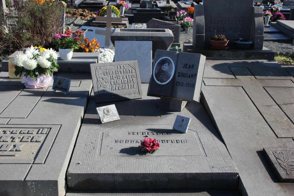 Veteran War Graves Frasnes-lez-Buissenal