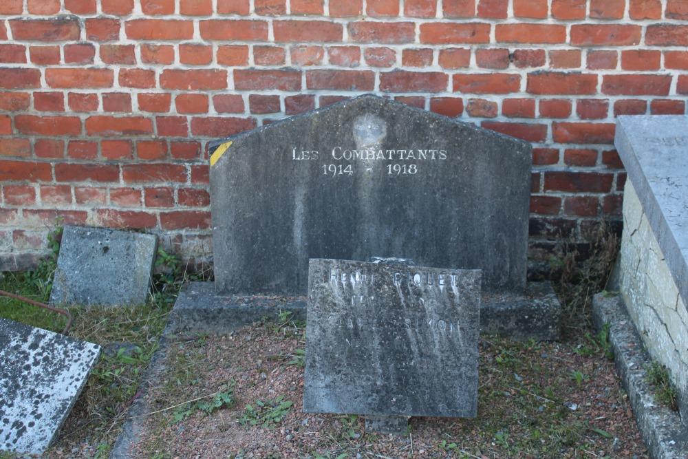 Graven Oudstrijders Chercq