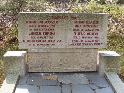 Dutch War Graves General Cemetery Rheden