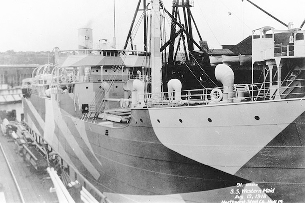 Ship Wreck SS Empire Cormount