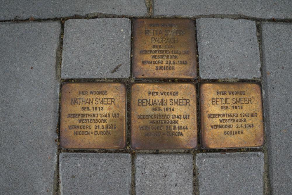 Stolpersteine Burgemeester van de Borchstraat 1