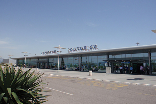 Luchthaven van Podgorica