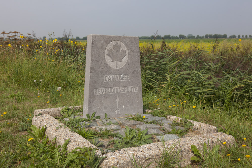 Marker No. 11 Canadian Liberation Route