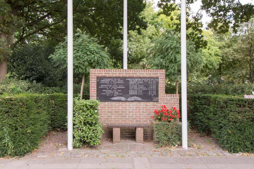 War memorial Overbroek
