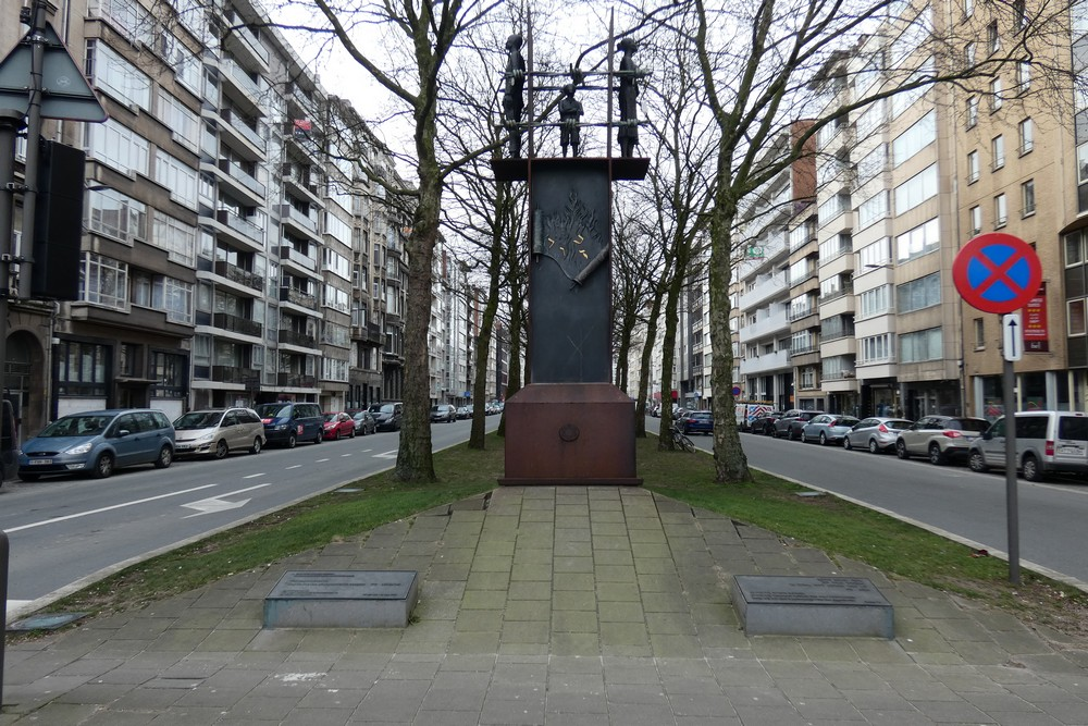 Monument Deported Jews Antwerp