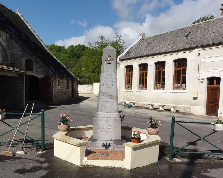 War Memorial Laniscourt