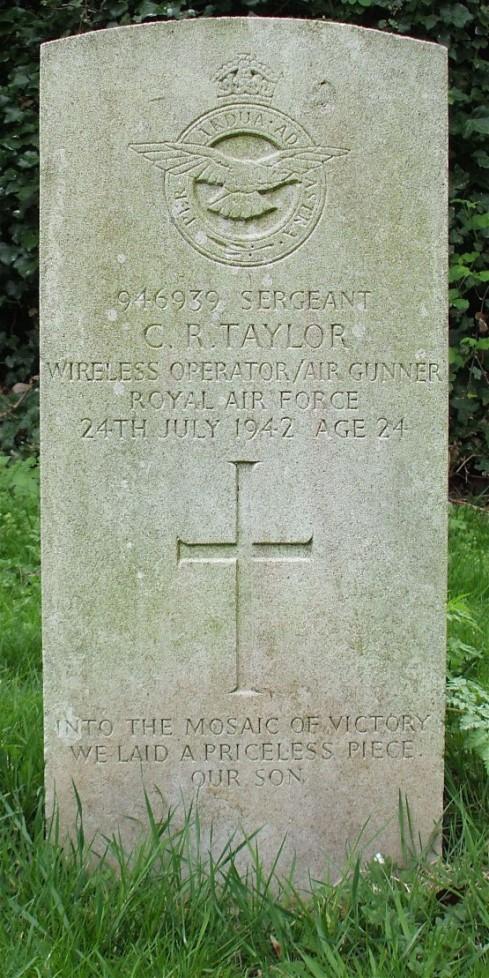 Commonwealth War Grave Dawley Baptist Chapel Cemetery