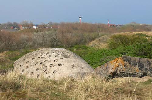 Restant Duitse Bunker Wangerooge