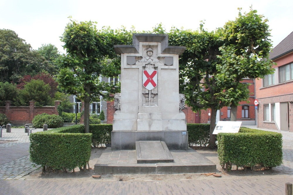 Memorial First World War Aalter