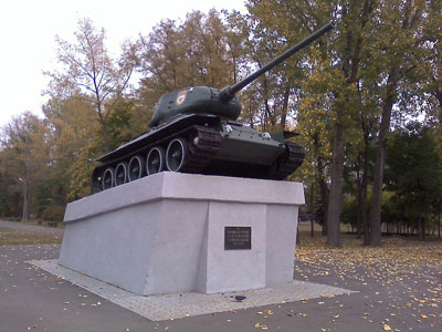 Bevrijdingsmonument (T-34/85 Tank) Krivoy Rog