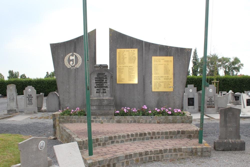 War Memorial Cemetery Ledegem