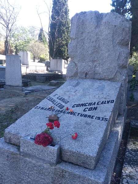 Grave of Francisco Largo Caballero