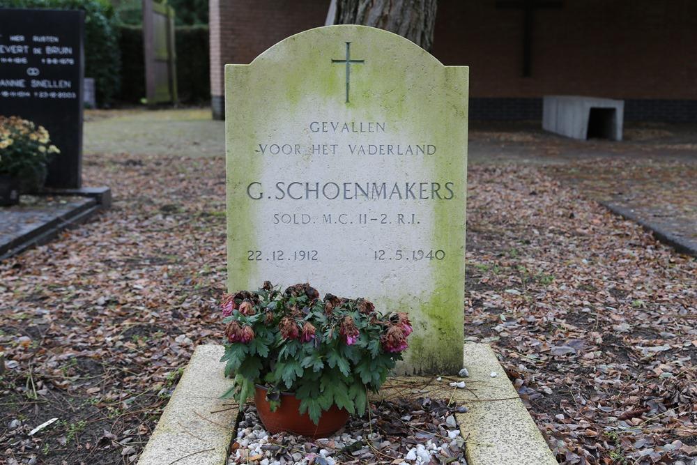 Dutch War Graves Roman Catholic Cemetery Aalst