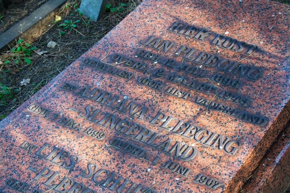 Nederlandse Oorlogsgraven Duinrust Beverwijk