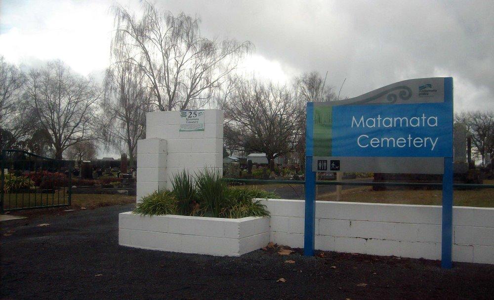 Oorlogsgraven van het Gemenebest Matamata Public Cemetery
